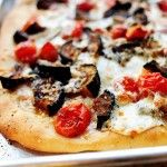 Roasted Eggplant Pizza