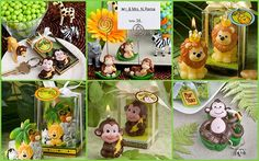 Jungle Safari Baby Shower Party Favors from HotRef.com