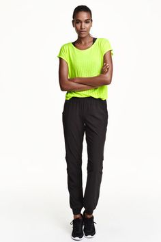 277ec669550 Sports trousers  Lightweight sports trousers in a stretch weave with an  elasticated waist