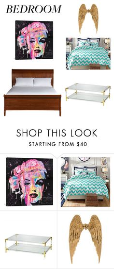 """""""WOW"""" by teahurei on Polyvore featuring interior, interiors, interior design, home, home decor, interior decorating, iCanvas, PBteen and Ethan Allen"""