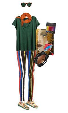 """Пустые слова"" by chemical-engineer on Polyvore featuring мода, Anouki, Balmain, American Apparel, H&M, Chloé и Hermès"