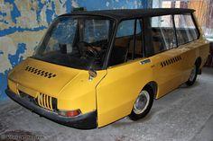 VNIITE-PT taxi prototype of Soviet Union