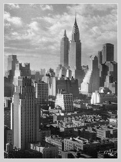 Midtown Manhattan - Dec'15, 1931 by cobravictor, via Flickr