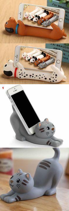 Base para tu smartphone en forma de animalitos.