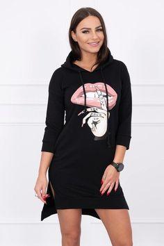 Môžete sa aj vy odviazať. Na voľný čas Ti ponúkame moderné dámske športové šaty v černej farbe Calvin Klein, Casual, Sweaters, Sport, Dresses, Products, Fashion, Vestidos, Moda