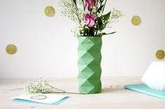 """Résultat de recherche d'images pour """"astuce deco pot de fleur et origami"""""""