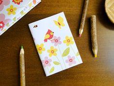 Caderno Jardim, do Atelier Joliz