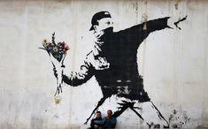 banksy art Information About Banksy, The Hidden Artist of Street Art, Banksy Art an. Art Banksy, Banksy Artwork, Graffiti Art, Art Journal Pages, Street Design, Modern Wall Art, Contemporary Art, Art Concret, Bts Drawings