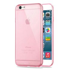 [USD0.71] [EUR0.68] [GBP0.53] HAWEEL 0.3mm Zero Series Transparent TPU Protective Case for iPhone 6 & 6s (Pink)