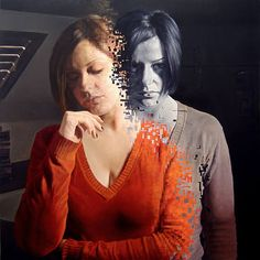 Painting by Salvatore Alessi