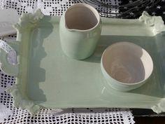 Wohndekoration - *pastellgrünes Lieblingsstück * - ein Designerstück von anja-schroeder-ceramics bei DaWanda