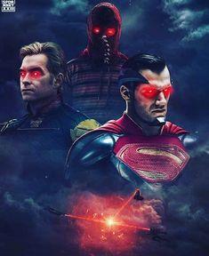 ในภาพอาจจะมี หนึ่งคนขึ้นไป Evil Superman, Mundo Superman, Superman Man Of Steel, Justice League, Comic Books Art, Comic Art, Superman Wallpaper, Superman Artwork, Superman Stuff