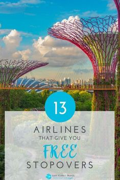 Top 13 Airlines that Give You FREE Stopovers Easy Planet Travel - Urlaub Travel Checklist, Travel Advice, Travel Guide, Travel Stuff, Travel Hacks, Travel Packing, Travel Ideas, Travel Inspiration, Cheap Travel