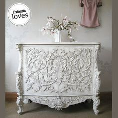 Beautifully ornate. The French Bedroom Company :: Storage - Drawers & Cabinets - Baroque Carved Cabinet