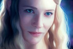 Galadriel, lady of light, lotr. the hobbit Elfa, Tauriel, Jrr Tolkien, Tolkien Quotes, Elvish, Gandalf, Cate Blanchett, Middle Earth, Lord Of The Rings