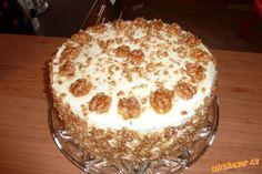 Griliášový dort pro babičku k narozeninám opravdu výborný