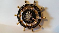 USS CONSTITUTION HERITAGE WAR OF 1812 BICENTENNIAL CPO CHIEF CHALLENGE COIN