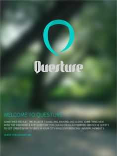 Questure by Thorben Pöhlmann #Questure #App #Web #Design #UI/UX #IxD #Web #Adventure #iPhone