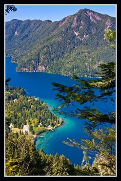 Camping Places To Go : Pyramid Mountain beyond Storm King Ranger Station at Lake Crescent WA Camping Places, Places To Travel, Places To See, Port Angeles Washington, Storm King, Costa, Evergreen State, Pacific Northwest, The Great Outdoors