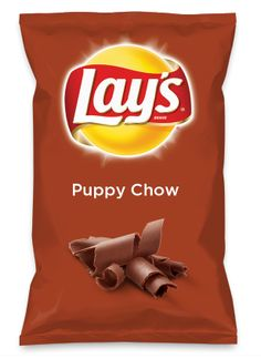 Wouldn't Puppy Chow be yummy as a chip? Lay's Do Us A Flavor is back, and the search is on for the yummiest flavor idea. Create a flavor, choose a chip and you could win $1 million! https://www.dousaflavor.com See Rules.