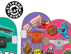 Skateboard stickers have always been highly collectable, and this will be the first book to bring together some of the most popular stickers, both classic and new. At a time when skateboarding has alr