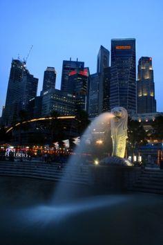 Singapore Merlion by Dan #travel #asia