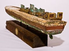 Artist Builds One-of-a-Kind Imperfect Boats from Discarded Materials - Prafulla.net