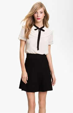 Ted Baker London Tiered Chiffon Top #Nordstrom #falltrends