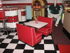 Very unusual! Child size retro diner booth - $799.00