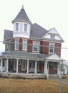 Elwood,Indiana.  My uncle's house on Main Street.