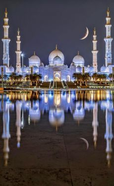 Bus Rental Dubai Offers An Amazing Abu Dhabi City Tour Trip By Luxury Buses. Get Off on Full Day Abu Dhabi Sightseeing Family Packages. Beautiful Mosques, Beautiful Buildings, Abu Dhabi, Mekka Islam, Mosque Architecture, Ancient Architecture, Gothic Architecture, Online Architecture, Computer Architecture