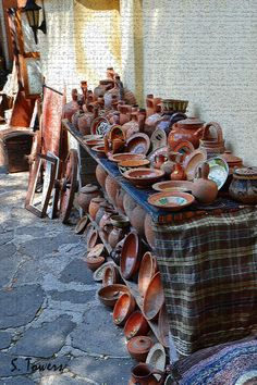 Bulgarian pottery Beautiful World, Beautiful Places, South East Europe, Macedonia, Albania, Montenegro, Slovenia, The Good Place, Places To Visit