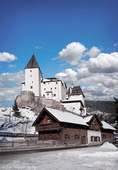 Mauterndorf Castle. Lungau, Salzburg, Austria. https://victortravelblog.com/2016/01/27/hermann-gorings-castle-mauterndorf-austria/