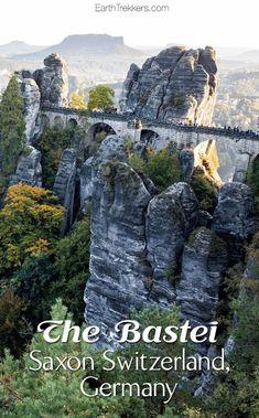 Bastei Bridge, Saxon Switzerland Germany Day Trip | Traveling Tips | Travel Hacks | Travel Destinations | #traveling #travelers #scenery #travelhacks #travelingtips | www.refreshadulting.com