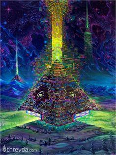 Terra by Jonathan Solter , Art Print - Jonathan Solter, Threyda