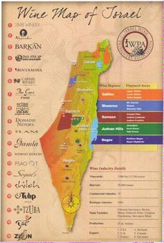 Israel y sus vinos @idpicc