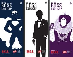 Are you BOSS enough? For F.A.B. Inc.'s annual stockholders conference, Inward wanted to create an interactive experience for attendees that would boost comradery. And what better way than through competition? We illustrated the silhouettes of 12 historical/fictional characters that Build On Solid Strength (BOSS) and a game sheet that encourgaed stockholders to guess who the bosses are. #advertising #interactive #campaign #atlanta