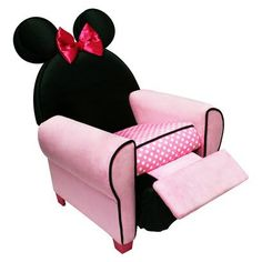 Minnie recliner my lil diva would love