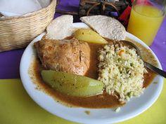 My favorite dish... Pepian!