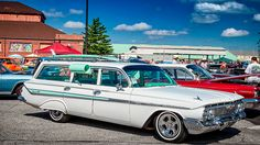 1961 Chevrolet Nomad Station Wagon This look exactly like the car of my parents that I got to drive in hight schoool. I even drove it once without the key while my folks were bowling. It all worked out, but was a traumatic experience.