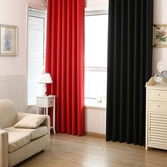 Panel Solid Lined Thermal Blackout Grommet Window Curtain Drape  #Affiliate
