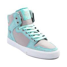Womens Supra Vaider High Skate Shoe Supra Sneakers, Supra Shoes, High Top Sneakers, Supra Footwear, Dream Shoes, Crazy Shoes, Me Too Shoes, Sock Shoes, Shoe Boots