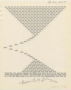 """Henri Chopin The Modernists hold their ground in MoMA's """"Ecstatic Alphabets/Heaps of Language"""" - Core77"""
