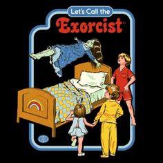 Humor negro e ilustración retro: Steven Rhodes Satanic Art, Bizarre Art, The Exorcist, Photo Wall Collage, Retro Aesthetic, Indie Kids, Retro Art, Halloween Art, Horror Art