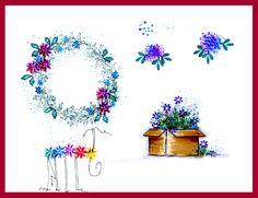 Sprig Wreath and Bug Demo Page