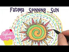 Our Lady of Fatima For Kids (Crafts, Printables, Recipes, And More! Catholic Religious Education, Catholic Crafts, Catholic Kids, Sun Crafts, Crafts For Kids, Audio Stories For Kids, Catholic Icing, Modern Miracles, Religion Activities