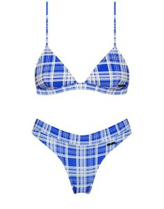 Size 10-12 Bnwt. Delicious White And Navy Catch A Wave Triangle Sporty Bikini