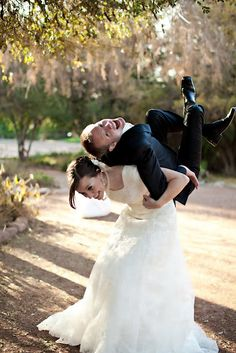What fun wedding photos!