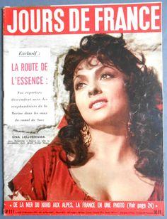 LE Grand JEU Gina Lollobrigida Jean Claude PASCAL1959 MON