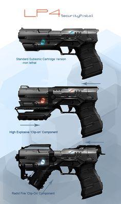 LP4 - Future Hand Gun Concept